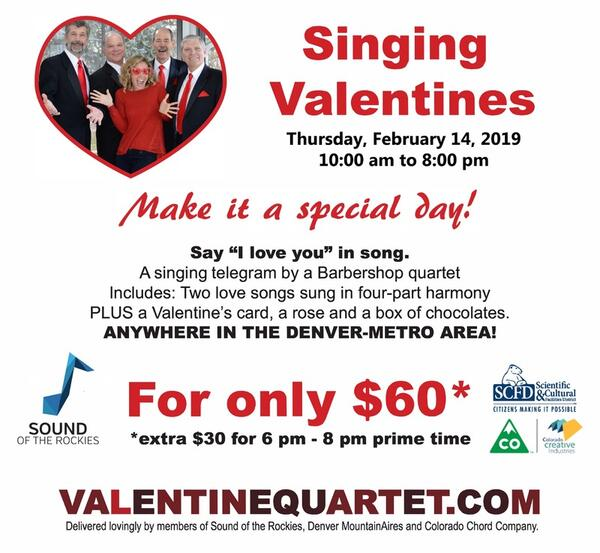 Feb 14 · Singing Valentines — Nextdoor