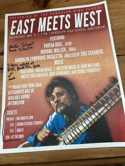 May 15 · Randolph High School: 'East Meets West', Master