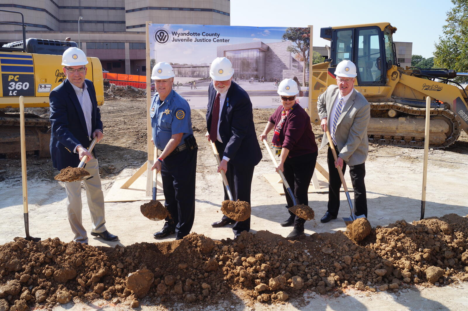 Groundbreaking Held for New Juvenile Justice Center