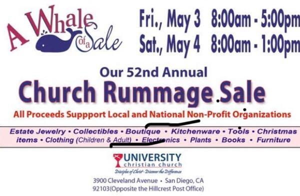 May 3 · 52nd Annual Church Rummage Sale — Nextdoor