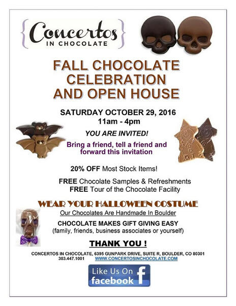 Concertos In Chocolate Open House