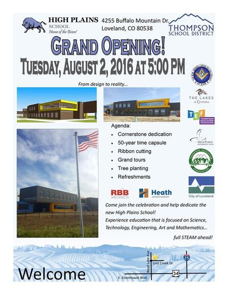 Aug 2 High Plains School Open House Nextdoor