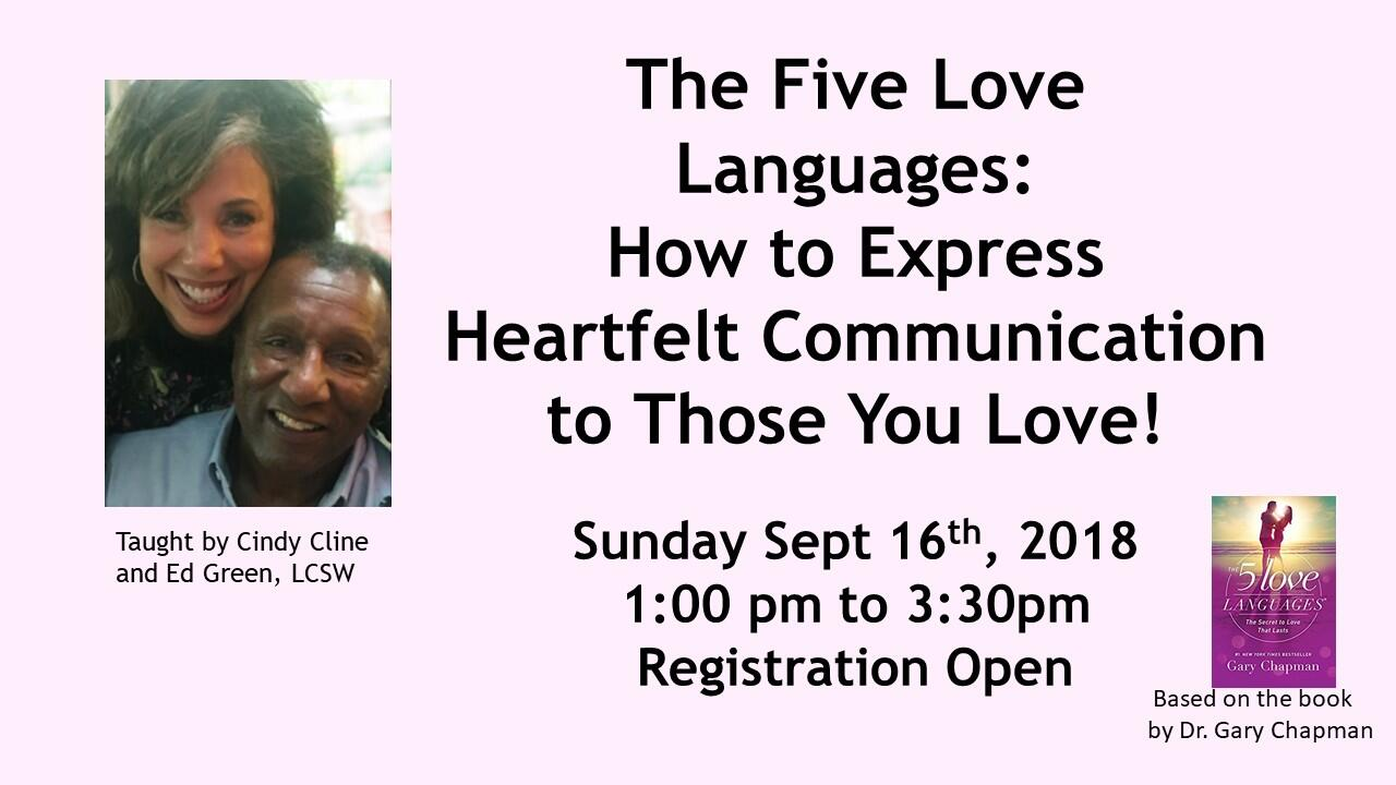 Sep 16  C2 B7 The Five Love Languages How To Express Heartfelt Communication To Those You Love Nextdoor