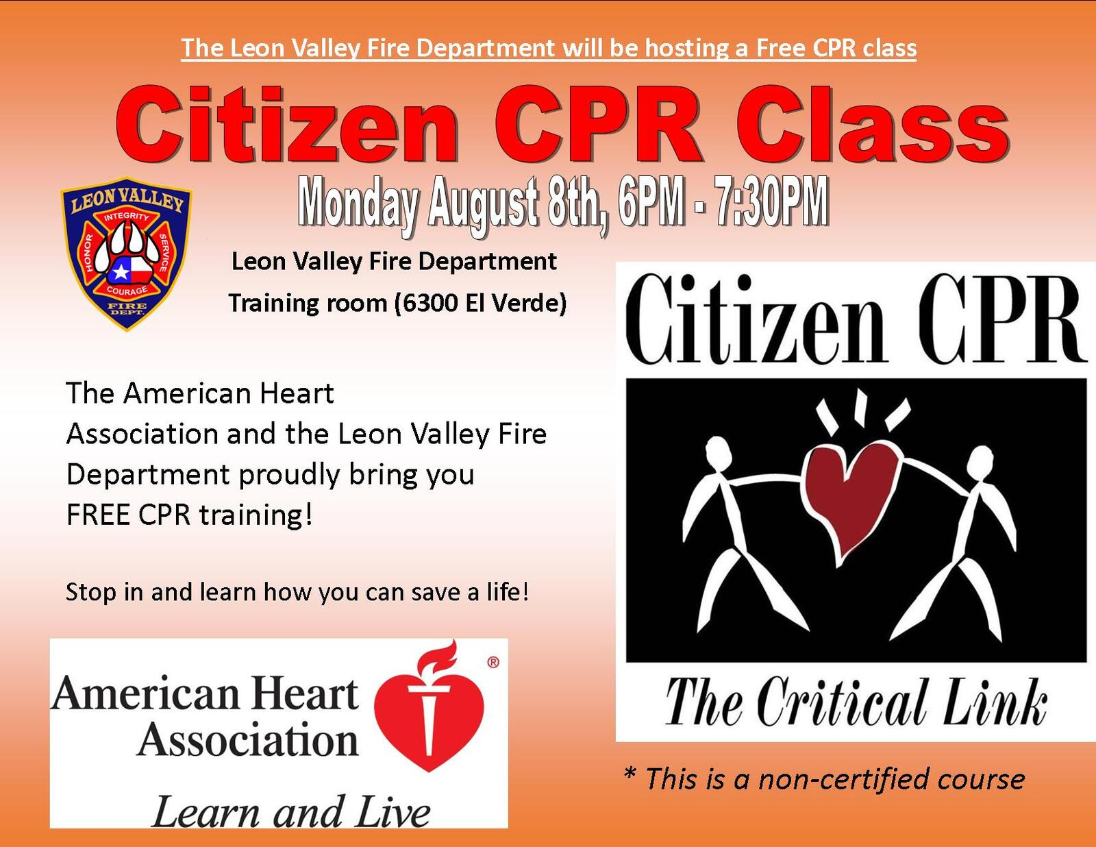 Todays Cpr Class Reserve Your Spot If You Havent Already Leon
