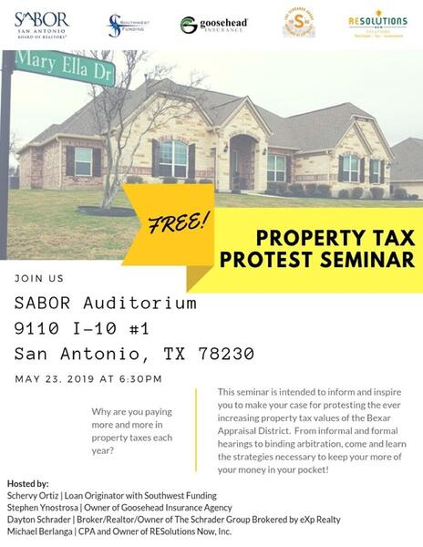 May 23 · Free Property Taxes Protest Seminar — Nextdoor