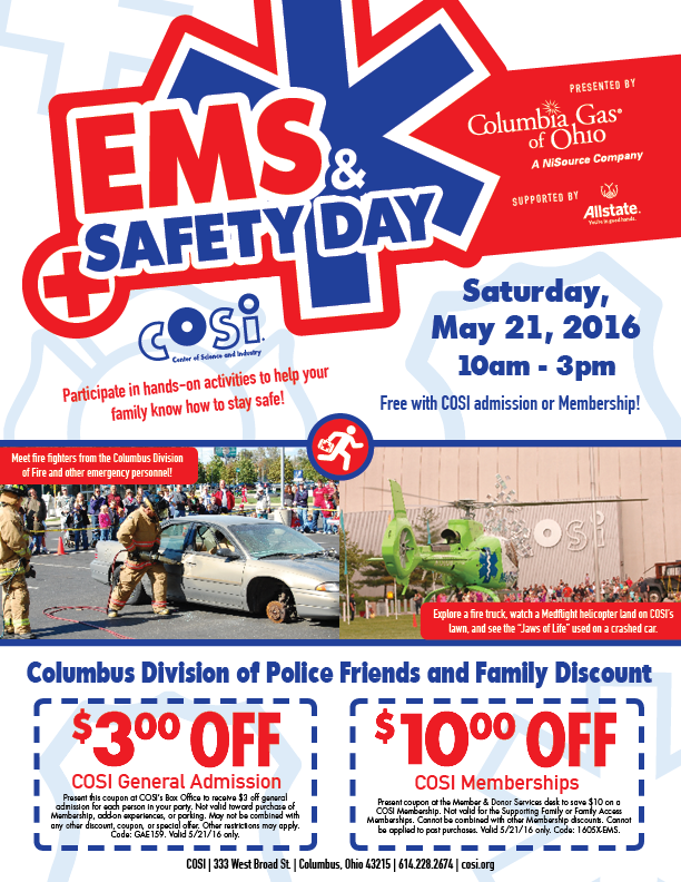 ems and safety day columbus division of police nextdoor