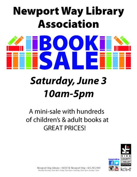 Jun 3 Newport Way Library Mini Sale Nextdoor