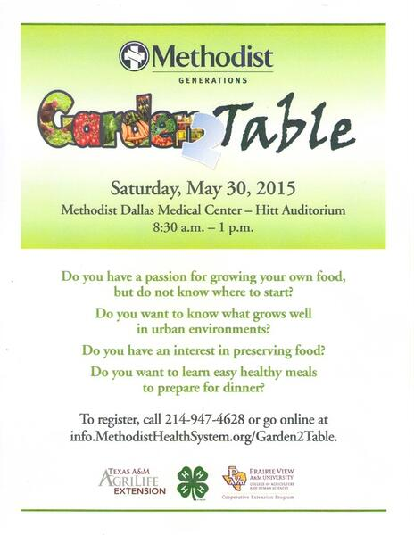 May 30 · GARDEN-2-TABLE — Nextdoor