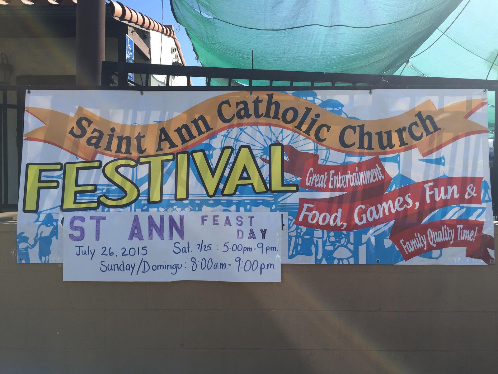Jul 26 · St  Ann Patron Saint Fiesta Day — Nextdoor