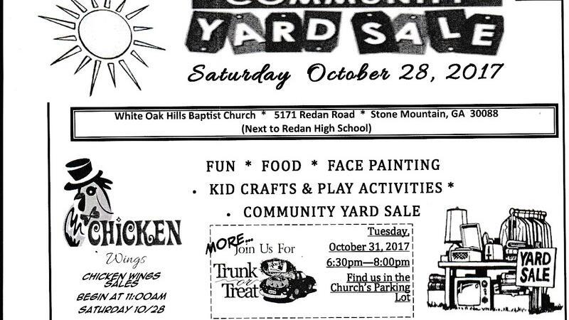 Oct 28 · Community Yard Sale — Nextdoor