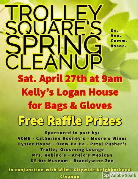 Apr 27 · Annual Trolley Square Spring Cleanup In conjunction