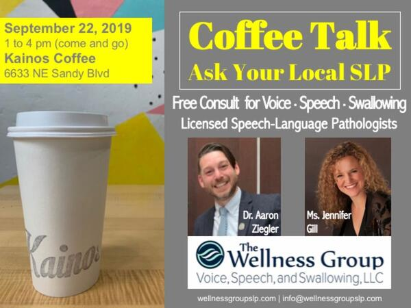 Sep 22 · Coffee Talk: Ask Your Local SLP — Nextdoor
