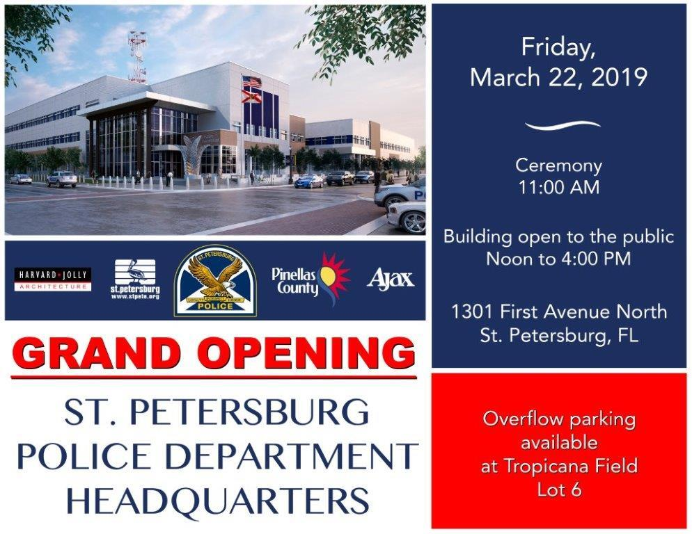 New Police Headquarters Grand Opening (St  Petersburg Police
