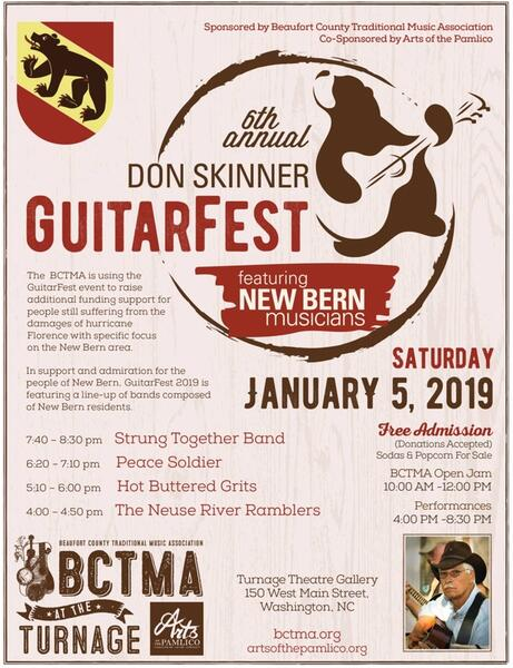 Jan 5 · January 5 Don Skinner GuitarFest to raise money for