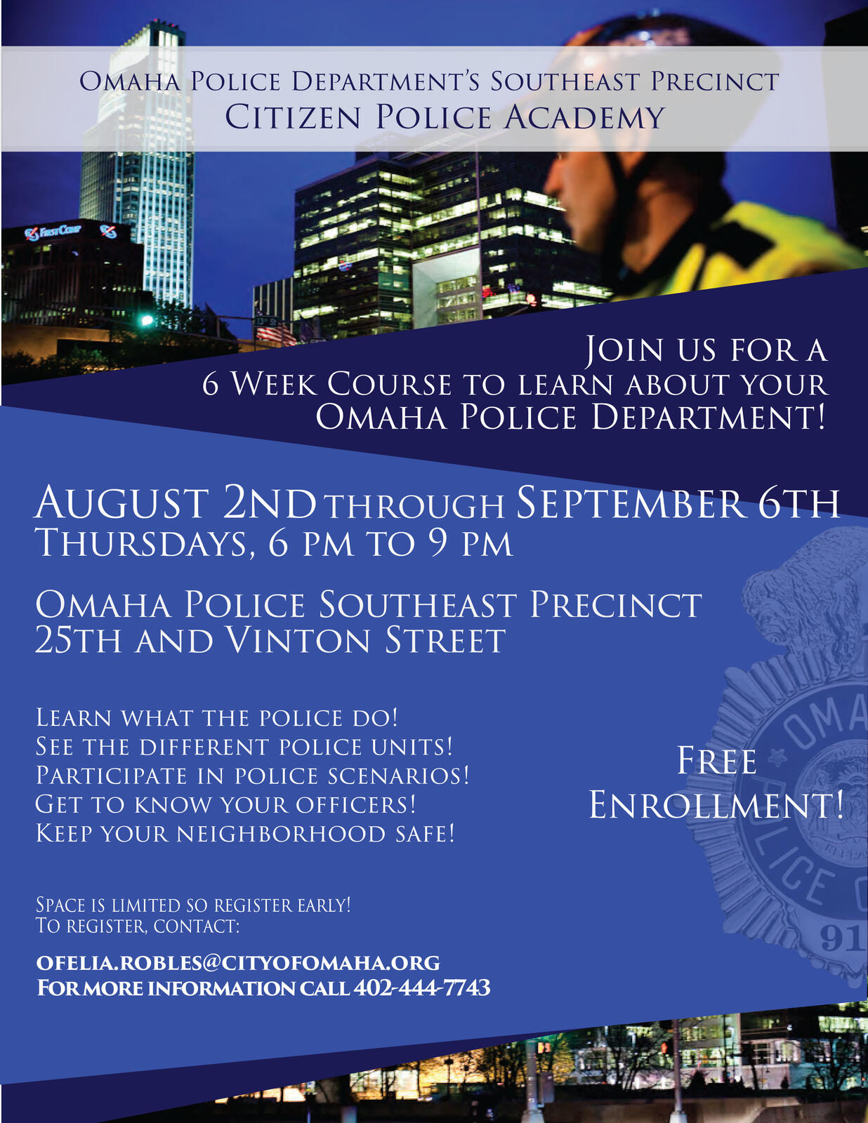 Citizen Police Academy 2018 (Omaha Police Department) &mdash