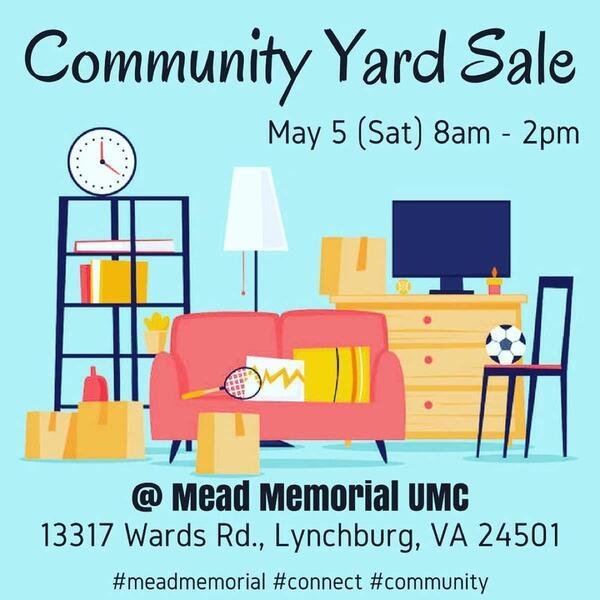 May 5 · Community Yard Sale — Nextdoor