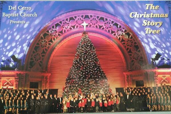 christmas story tree at balboa park - Balboa Park Christmas Lights