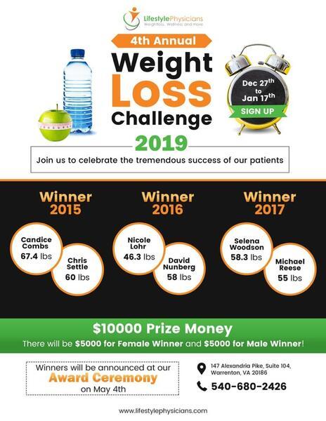 Weight Loss Challenge 2019 ~ La Femme Tips