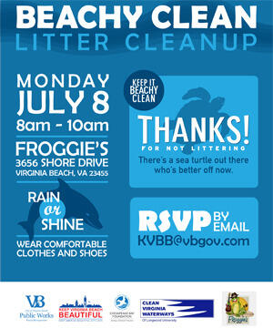 Jul 8 · Volunteer to Keep Our Beaches and Surrounding