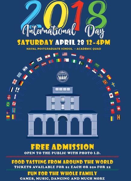 85ce83fd4cc1f Apr 28 · International day Naval Post graduate school! – Nextdoor