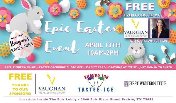 Apr 14 · Epic Easter Event — Nextdoor