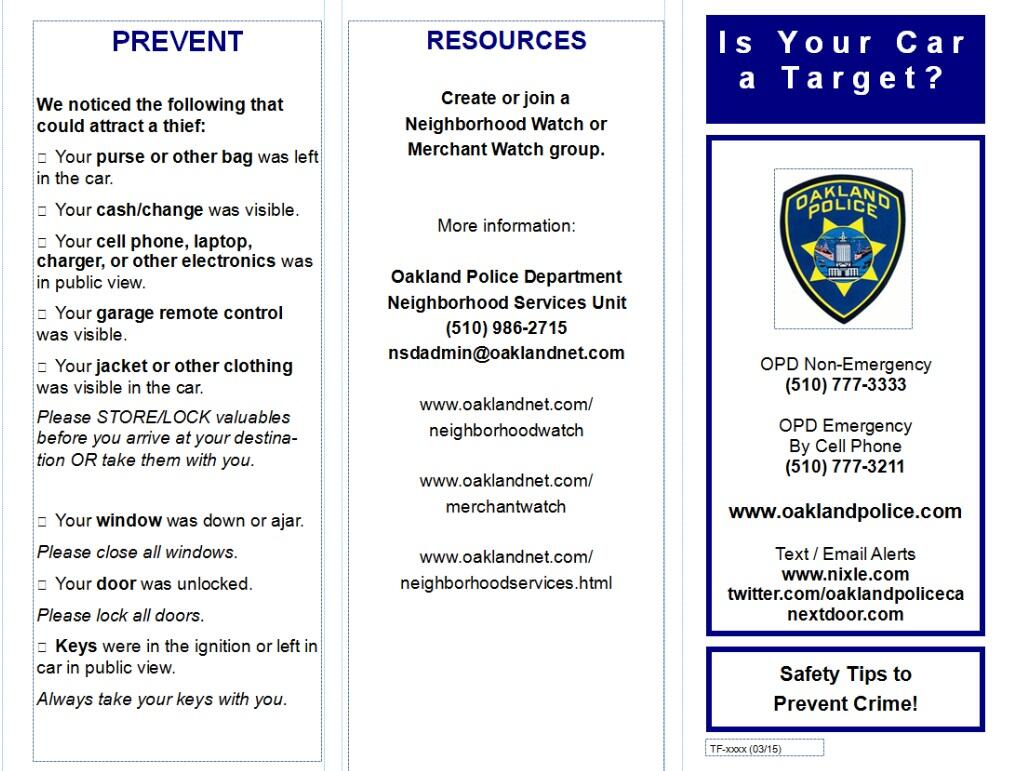 Mobile Command Post outreach, Prevention and Enforcement