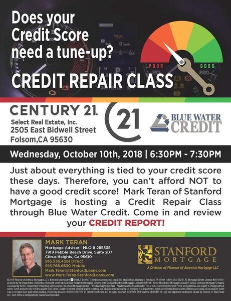 Oct 10 · Credit Repair Class — Nextdoor