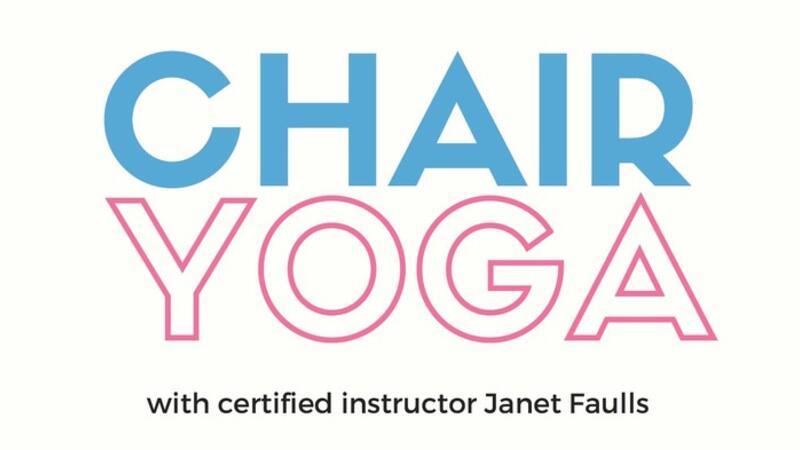 May 9 Free Chair Yoga At The Library Nextdoor