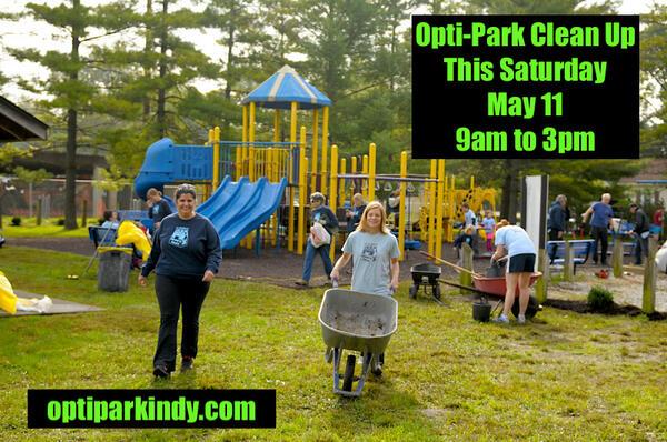 May 11 · Opti-Park Volunteer Clean Up Day — Nextdoor