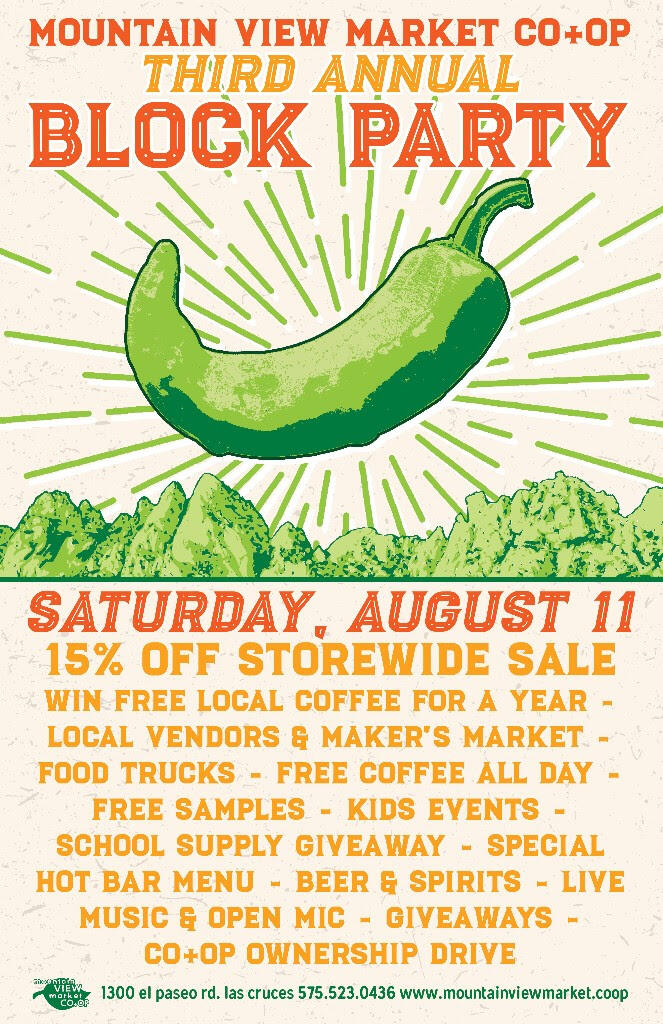 Aug 11 · Mountain View Market Co-Op is having their Annual Block