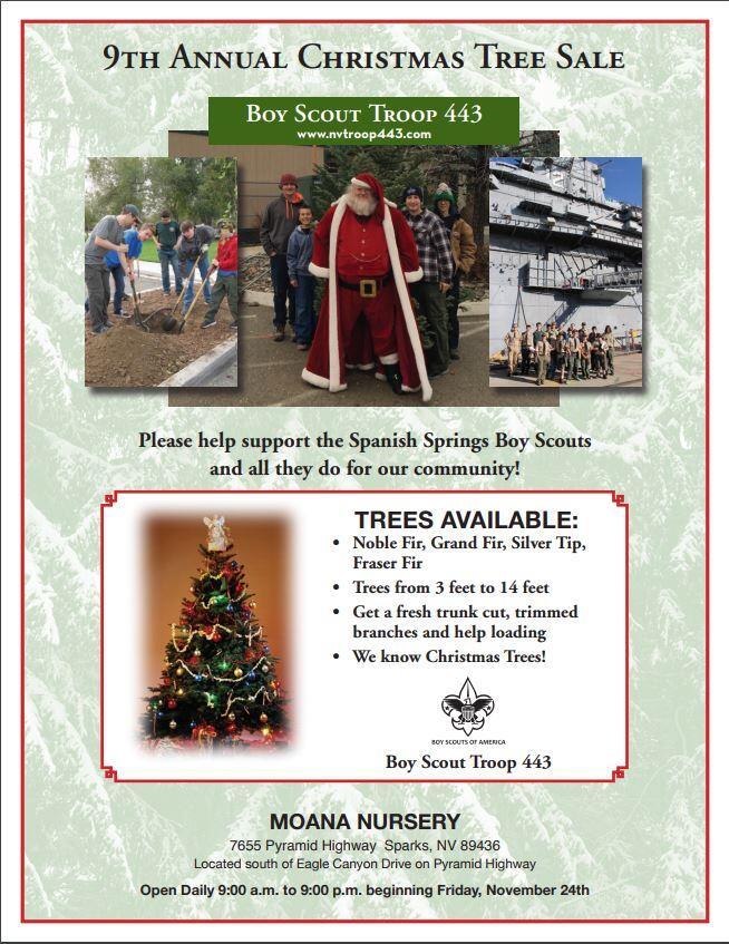 nov 24 boy scout christmas tree lot nextdoor - Boy Scout Christmas Trees