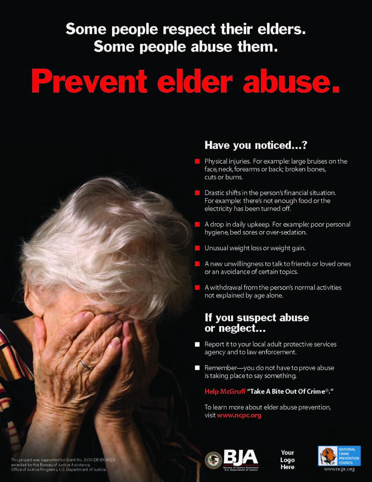 Preventing Elder Abuse (Benton County Sheriff's Office